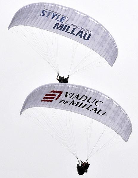 AIRZONE Parapente - STYLE MILLAU - Viaduc de Millau